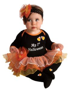 Rubie's Costume My First Halloween Tutu And Onesie, Black, 6-12 Months #Rubies #Costume #First #Halloween #Tutu #Onesie #Black #6-12 #Months