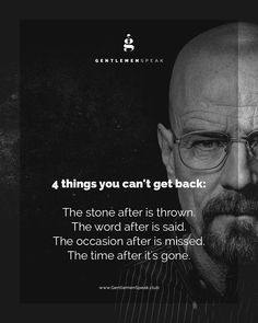 My favourite is the 3rd one which one is yours? #GentlemenSpeak #BreakingBad
