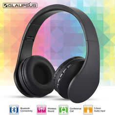 Find More Earphones & Headphones Information about GLAUPSUS GTH811 Wired Wireless Bluetooth Headband Headphone with Mic Support Hands free Call Volume Control Lightweight Earphone,High Quality headphone package,China headphone audio Suppliers, Cheap headphones glasses from GLAUPSUS store on Aliexpress.com