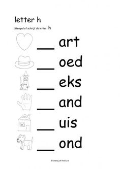 Grade R Worksheets, Free Printable Alphabet Worksheets, Phonics Worksheets, Teaching Writing, Writing Skills, Preschool Poems, Learn Dutch, Spelling Rules, Afrikaans Language