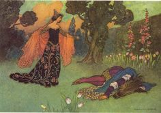 Beauty and the Beast, 1913, Warwick Goble