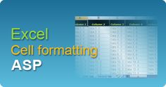 Export data to Excel with cell formatting in ASP classic using EasyXLS component! XLSX, XLSM, XLSB, XLS spreadsheets in ASP Classic. #EasyXLS #Export #Excel #Cell #Formatting #ASP Coding, Tutorials, Classic, Dative Case, Derby, Classic Books, Programming, Wizards