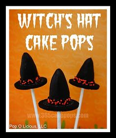 Every Day Should Pop!: Tutorials - Halloween Cake Pops