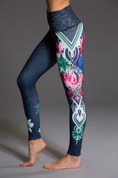 High Rise Graphic Yoga Legging Holi