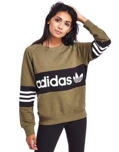 adidas Originals Street Crew Sweatshirt - Shop online for adidas Originals Street Crew Sweatshirt with JD Sports, the UK's leading sports fashion retailer. Style Outfits, Grunge Outfits, Sport Outfits, Fall Outfits, Sport Fashion, Teen Fashion, Fitness Fashion, Adidas Fashion, Oufits Casual