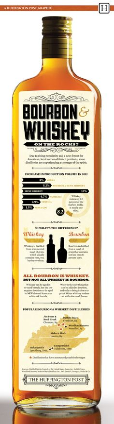 Whiskey Facts You Should Know (INFOGRAPHIC)