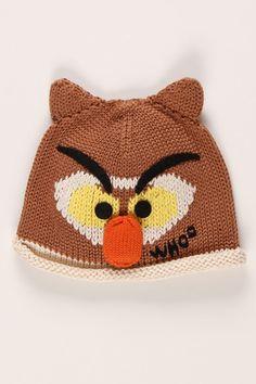@Daniella Nicole  Handcrafted Kids Knit Owl Hat