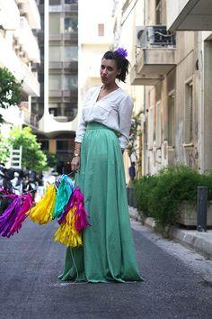 Sona // Karavan Clothing  blog.karavanclothing.com #karavanclothing #karavan #sonakaravan We Wear, How To Wear, Greek, Designers, Tulle, Seasons, City, Skirts, Outfits