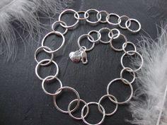 'Loopy Argentium Necklace' #agnesdrjewellery