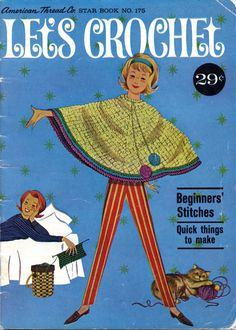 Let's Crochet from American Thread Company  Star Book No.
