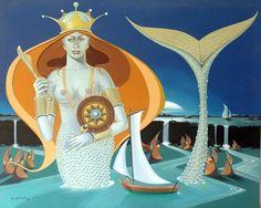 Mermaid art by Eduardo Carvalho