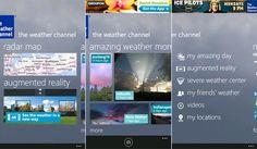 The Weather Channel para Nokia Lumia actualizada a la versión 2.1 http://www.aplicacionesnokia.es/the-weather-channel-para-nokia-lumia-actualizada-a-la-version-2-1/