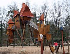 Cool playground! From the real world or the pages of a Dr. Seuss book? | KaBOOM!