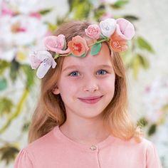 Kit couronne de fleurs en papier Adeline Klam