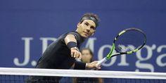 #Nadal fist-pumps way into US Open last 16
