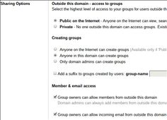 How to send email to groups efficiently with Google Apps