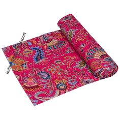 Handmade Quilt Indian kantha quilt kantha throw boho quilt bohemain quilt Bedding Blanket Indina coverlets Quilt For Sale Indian Bed Cover Cotton Blankets, Cotton Quilts, Cotton Fabric, Bohemian Quilt, Boho, Quilt Bedding, Twin Quilt, Indian Quilt, Quilted Throw Blanket