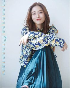 Satomi Ishihara, Japanese Girl, Beautiful Actresses, Actors & Actresses, High Waisted Skirt, Kimono Top, Bell Sleeve Top, Ruffle Blouse, Beautiful Women