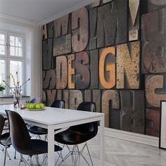 Décor mural - Rebel Walls - Woodcut - Design