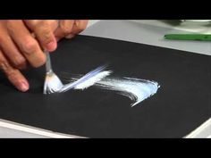 The Joy of Crafting Show 200/1 - One Stroke Waterfall painting - YouTube