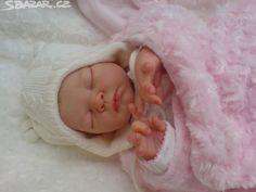 prodám novou reborn panenku Serah-Adrie Stoete,měří 48cm,malovaná - obrázek…