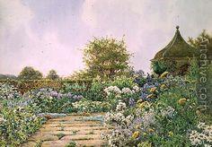 E.A. Rowe: An English Country Garden
