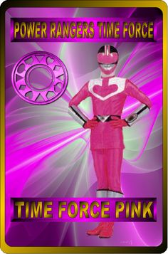Pink Time Force Ranger by rangeranime on Power Rangers Time Force, Saban's Power Rangers, Power Rangers In Space, Power Rangers Samurai, Naruto Sage, Power Rengers, Go Busters, Michael Jackson Quotes, American Series