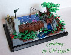 Life in a Brick: MOC: Fishing...