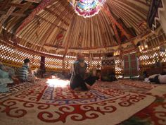 Wedding jurta in Uzbekistan, magic! Long Stories, Yurts, Magic, Wedding, Travel, Casamento, Voyage, Weddings, Viajes