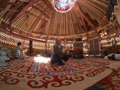 Wedding jurta in Uzbekistan, magic!
