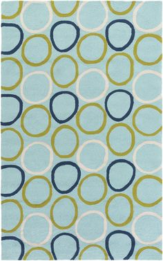 Surya Miranda MRA1005 Blue/Brown Outdoor Area Rug