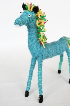 Beklina : Hand Crafted Yarn Animals [Yarn Animals] - $18.00