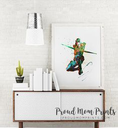 Dc Comics Decor, Dc Comics Party, Green Arrow, Green Arrow Wall Art, Green Arrow Nursery