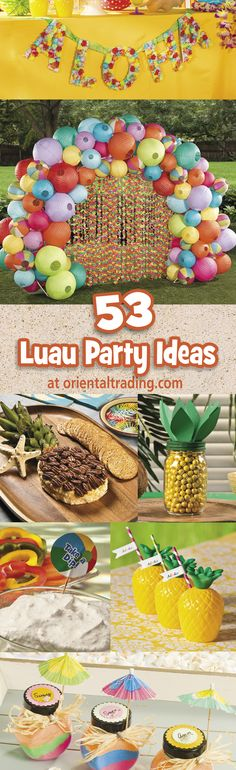 It's time to get ready for luau season with luau recipes, DIY party decorations and fun favor ideas. With 53 projects to browse, there's no shortage of ideas you can bring to life for your own luau. #party
