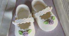 sugar paste baby shoes | Fondant/Gumpaste Figures | Pinterest | Sugar Paste, Baby Shoes and Sugar