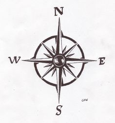 compass tattoo | For awhile now, I've been wanting to get inked.