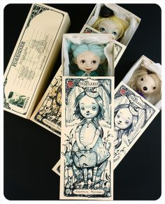 Doll Matchbox - by the Filigree the fairies in their traveling bed   | Flickr - Photo Sharing!