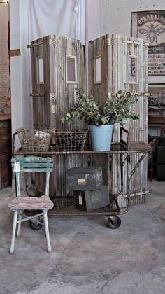 Rustic, vintage, charming FleaingFrance Brocante Society