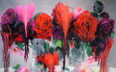 """""""Dog'' from Nick Knight's Photo/Paintings 