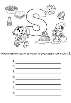 Pedagogia Brasil: Atividades com listas de palavras