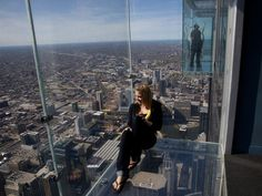 Skydeck in the Willis Tower (formerly the Sears Tower), Chicago