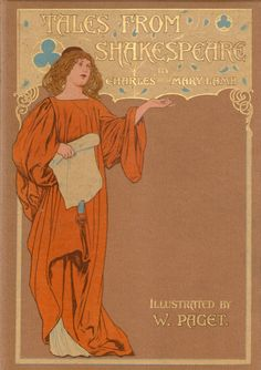 """michaelmoonsbookshop: """" attractive cover of Tales from Shakespeare c1890's """" [Sold]"""
