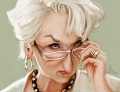 Meryll Streep Caricature  #art #Caricature #cool