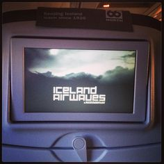 #Icelandair is the best ever - amazing music and film selections, including a documentary on the #iceland #airwaves festival! Already planning my next trip to #reykjavik for it... - @MaSovaida