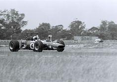 "Derek Bell - Ferrari Dino 246T-69 - SEFAC Ferrari - Warwick Farm ""100"" - 1969 Tasman Cup, round 6"