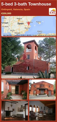 5-bed 3-bath Townhouse in Ontinyent, Valencia, Spain ►€250,000 #PropertyForSaleInSpain