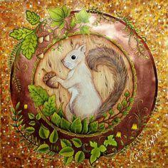 Faber Castell Colouring Techniques Ps Johanna Basford Secret Garden Princess Aurora Instagram Enchanted Forest Animals Heartfelt Creations
