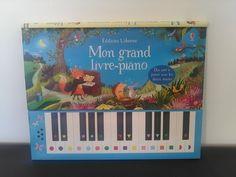 Mams De Deux Bambinos: Chut les enfants lisent : Mon grand livre-piano Editions Usborne