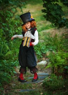 A Mad Hatter Costume For Kids