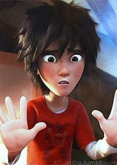 Oh God the wifi is down I repeat the wifi is down! The Big Hero, Hiro Big Hero 6, Disney And Dreamworks, Disney Pixar, Anim Gif, Gogo Tomago, Hiro Hamada, Disney Crossovers, In And Out Movie